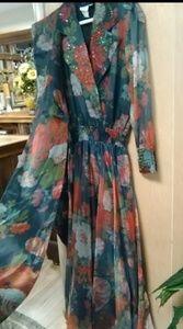 Diane Freis original dress#long slash